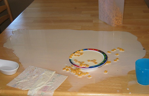 spilled milk meaning